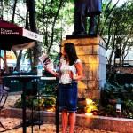 Joanna Hoffman in Bryant Park