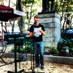 Seth Pennington in Bryant Park